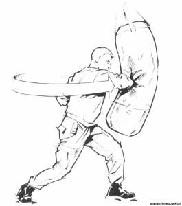 Тренируйтесь, чтобы драться, а не показывать технику3